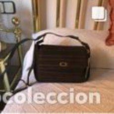 Vintage: BOLSO VINTAGE COMPLETAMENTE NUEVO A ESTRENAR DE NOBUK Y BOXCALF COLOR MARRÓN. Lote 206141327
