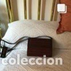 Vintage: BOLSO VINTAGE COMPLETAMENTE NUEVO A ESTRENAR DE NOBUK Y BOXCALF COLOR MARRÓN-CORINTO. Lote 206141335