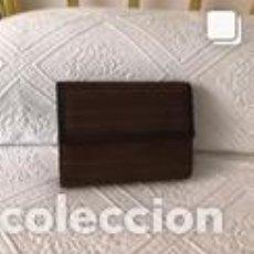 Vintage: BOLSO VINTAGE COMPLETAMENTE NUEVO A ESTRENAR DE NOBUK Y BOXCALF COLOR MARRÓN. Lote 206141338