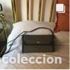 Vintage: BOLSO VINTAGE COMPLETAMENTE NUEVO A ESTRENAR DE NOBUK Y BOXCALF COLOR GRIS. Lote 206141345