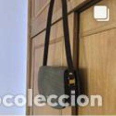 Vintage: BOLSO VINTAGE COMPLETAMENTE NUEVO A ESTRENAR DE NOBUK Y BOXCALF COLOR VERDE CAQUI. Lote 206141383