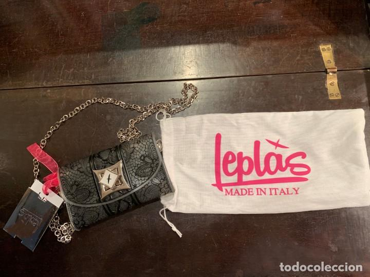 Vintage: Maravilloso bolso bolsito italiano marca Leplás, con certificado de autenticidad y calidad - Foto 2 - 206205770