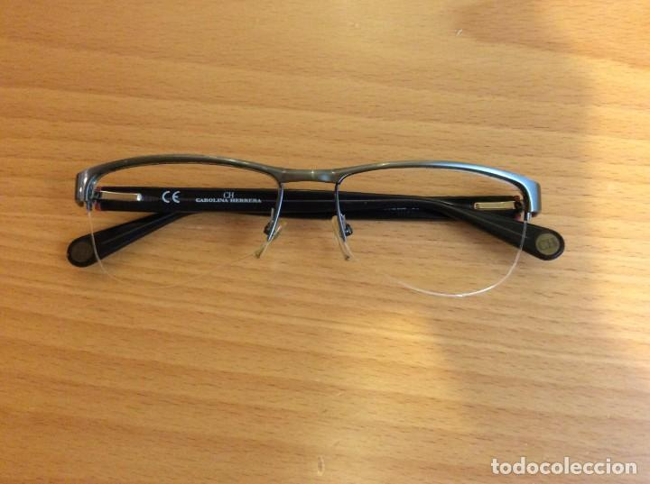 Vintage: Montura y funda de gafas de Carolina Herrera CH - Foto 3 - 206210162