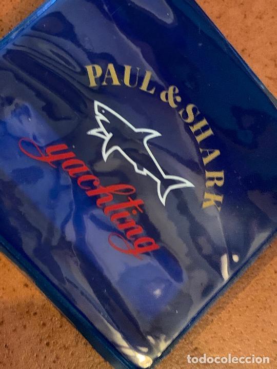 Vintage: Curioso portadocumentos o billetero nautico, cierre zip, marca Paul & Shark. Impecable - Foto 4 - 206377476