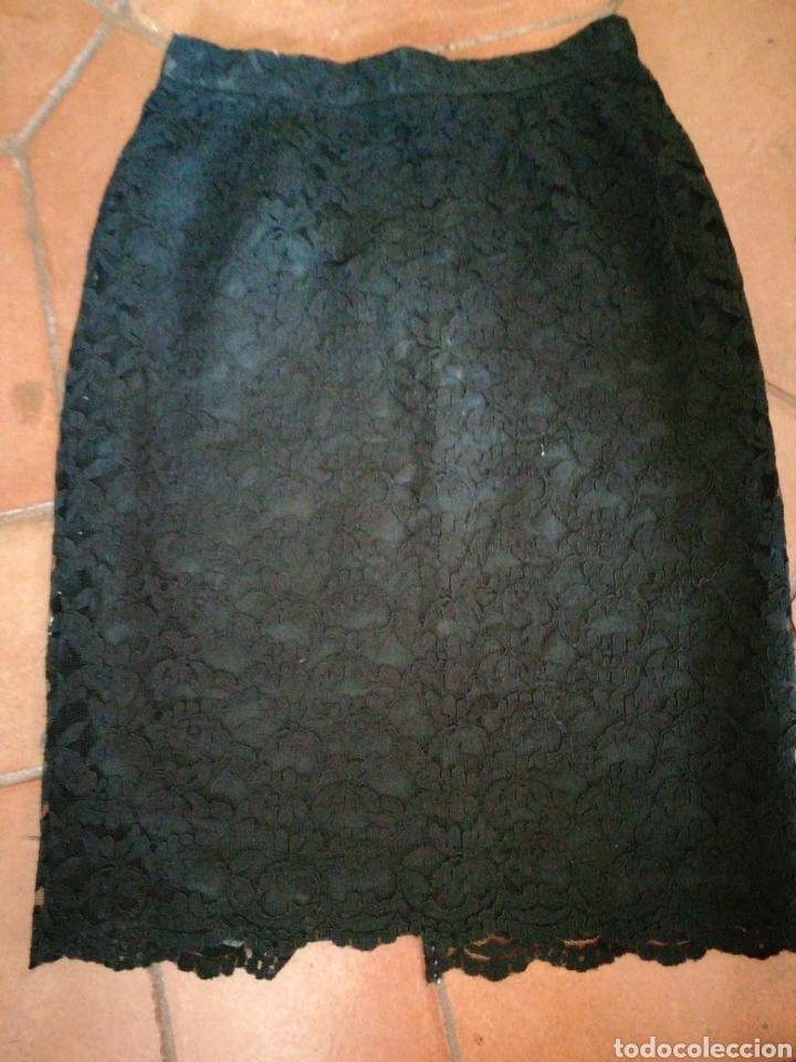 Vintage: Falda de encaje - Foto 3 - 207285480