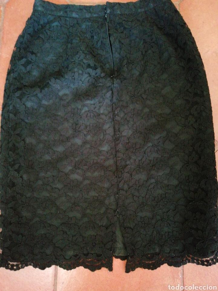 Vintage: Falda de encaje - Foto 4 - 207285480