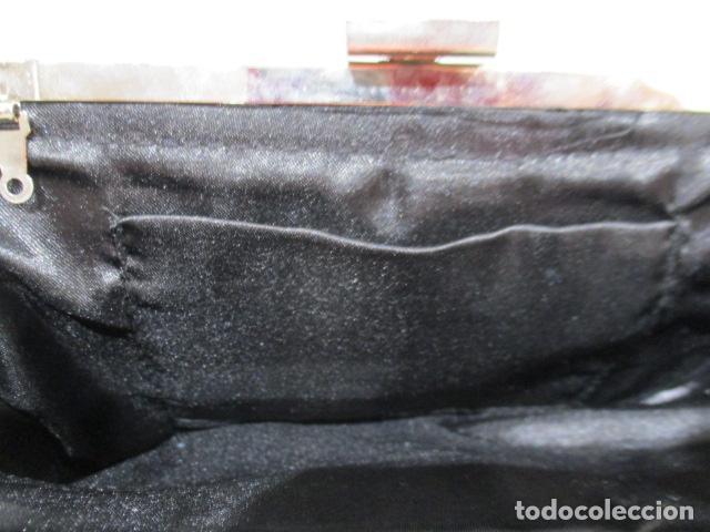 Vintage: Precioso bolso de fiesta. 26 x 14 cm - Foto 9 - 207367255