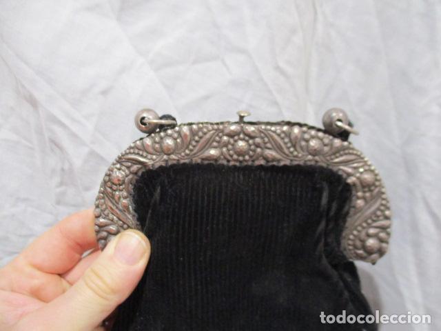 Vintage: Precioso bolso de fiesta. 19 x 15 cm - LONGITUD DE CUERDA 95 CM. - Foto 2 - 207375821