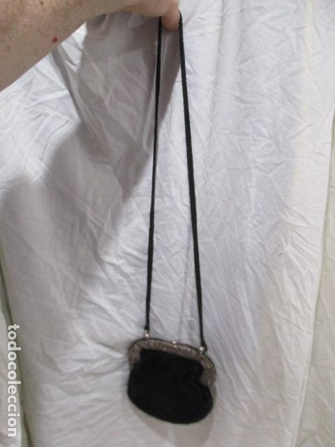 Vintage: Precioso bolso de fiesta. 19 x 15 cm - LONGITUD DE CUERDA 95 CM. - Foto 6 - 207375821