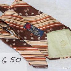 Vintage: CORBATA - ATCA TERYLENE- 100% POLYESTER - CORBATA VINTAGE 13CM ESTILO DISCO AÑOS 70 - (G50). Lote 208191671