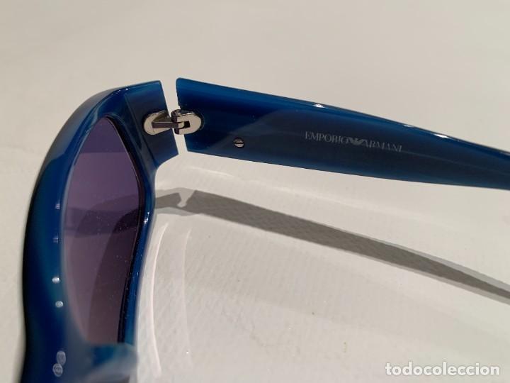 Vintage: Gafas de sol firma EMPORIO ARMANI, color azul. Made in Italy. Perfectas. - Foto 4 - 208391750