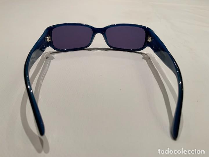Vintage: Gafas de sol firma EMPORIO ARMANI, color azul. Made in Italy. Perfectas. - Foto 7 - 208391750