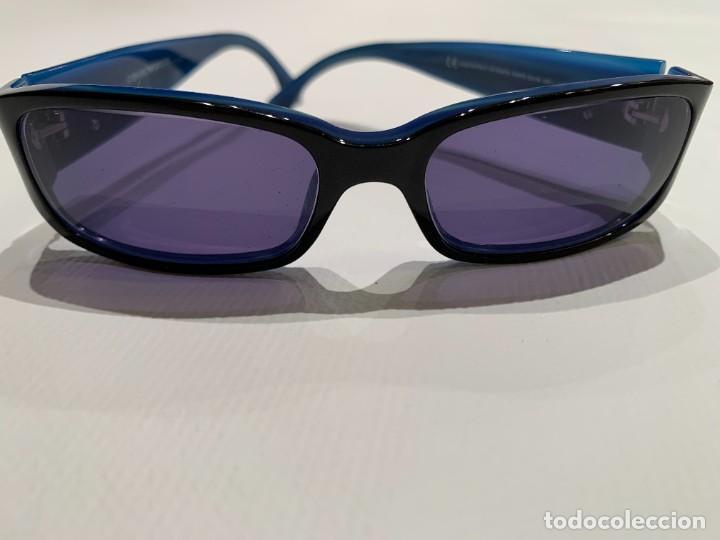 Vintage: Gafas de sol firma EMPORIO ARMANI, color azul. Made in Italy. Perfectas. - Foto 8 - 208391750