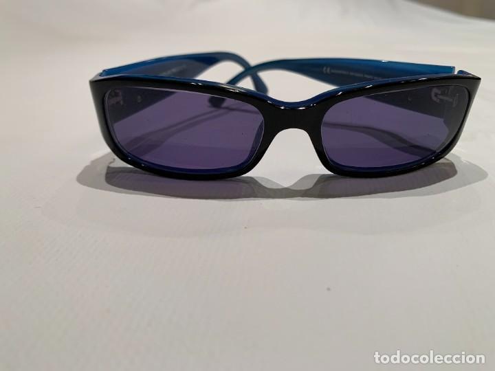 Vintage: Gafas de sol firma EMPORIO ARMANI, color azul. Made in Italy. Perfectas. - Foto 10 - 208391750