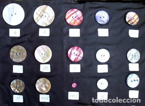 Vintage: BOTONES DE NACAR AÑOS - Foto 13 - 208670690