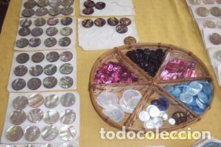 Vintage: BOTONES DE NACAR AÑOS - Foto 15 - 208670690