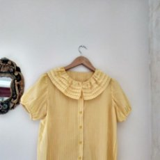Vintage: BLUSA CAMISA VINTAGE TALLA S. Lote 208999923