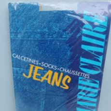 Vintage: CALCETINES JEANS MARIE CLAIRE. Lote 209607280
