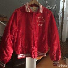 Vintage: CHAQUETA SATIN JACKET ROJA RED. SIZE M. CHAQUETA DEPORTIVA. Lote 209906822