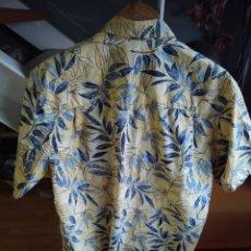 Vintage: CAMISA XL TIPO HAWAIANA AMARILLA. Lote 210183525