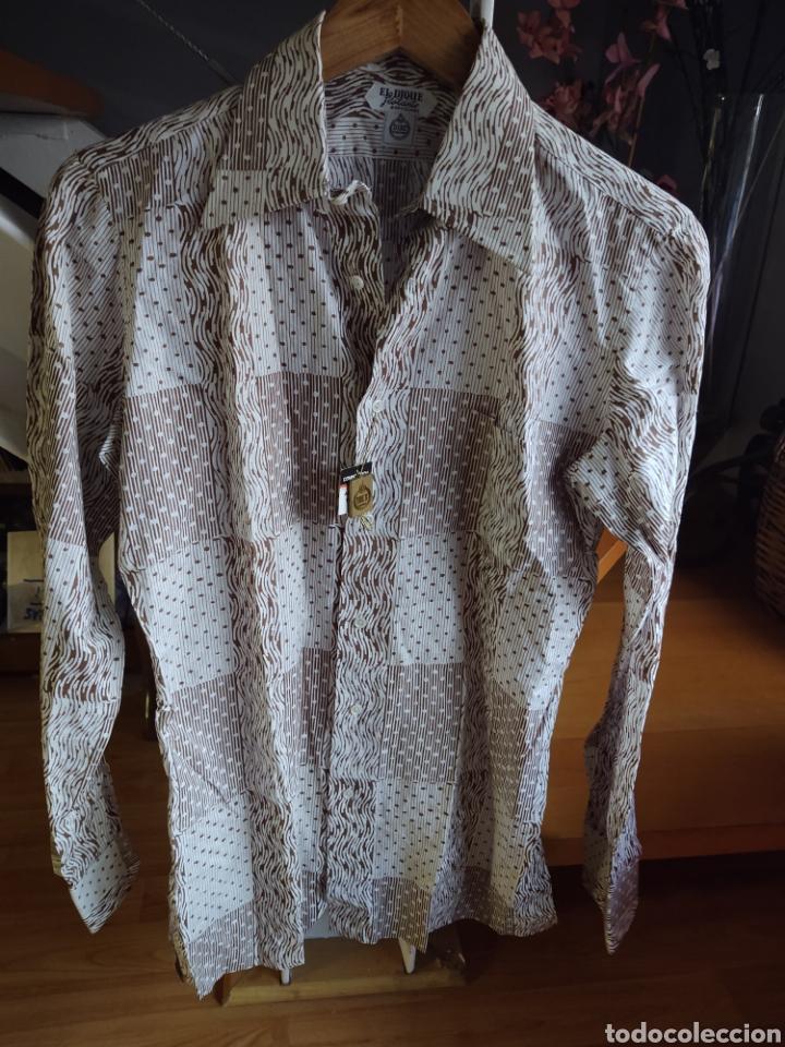 Vintage: El dique flotante. Camisa talla S. Años 60 - Foto 2 - 210183676