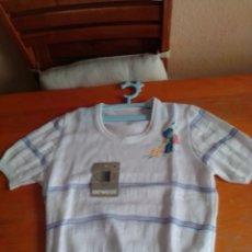 Vintage: ROPA INFANTIL NIÑA JERSEY CON ETIQUETA AÑOS 80.. Lote 211449471