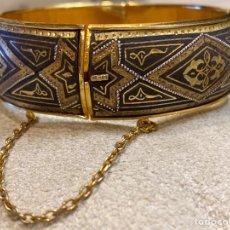 Vintage: BRAZALETE DAMASQUINADO. Lote 212415350