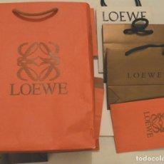 Vintage: LOEWE - LOTE 9 BOLSAS - ESTUCHES DIVERSOS DE LA FIRMA - SIN USO. Lote 212563133
