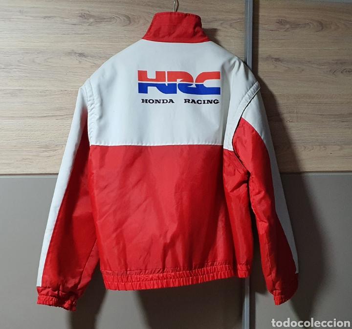 Vintage: Cazadora Chaqueta motera Honda Racing HRC talla XXL - Foto 6 - 212802411