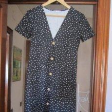 Vintage: VESTIDO JUVENIL TALLA 38/40 ENTALLADO. Lote 212888583