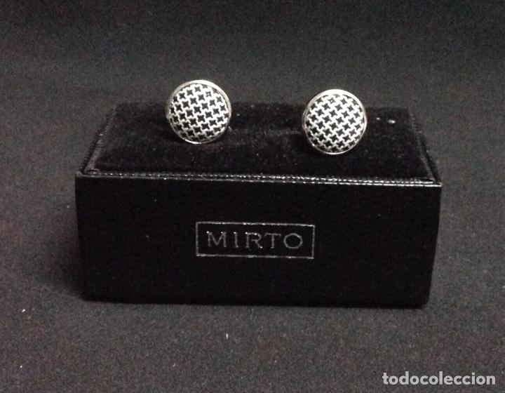 Vintage: Gemelos, Mirto, elegantes, vintage, nuevos - Foto 2 - 212945828