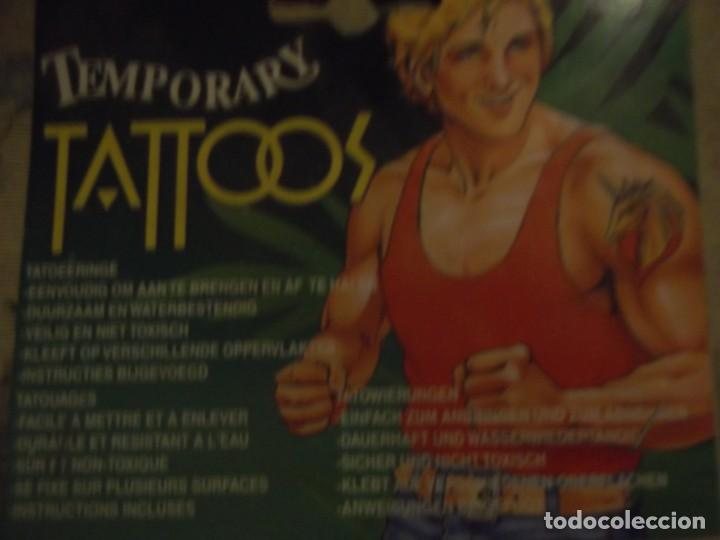 Vintage: Tatuajes , Tatoos Temporales - Foto 2 - 213437040