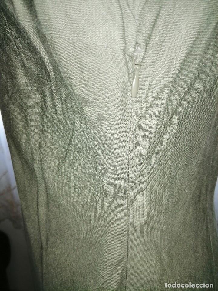 Vintage: Vestido bordado - Foto 5 - 213703010