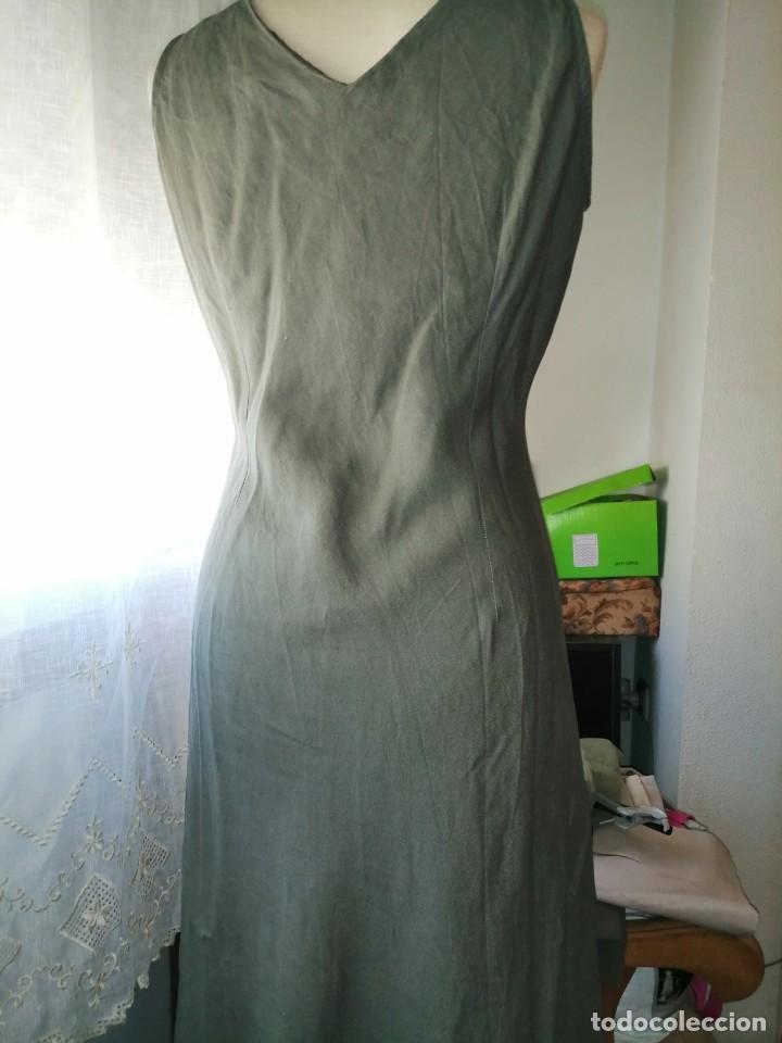 Vintage: Vestido bordado - Foto 7 - 213703010