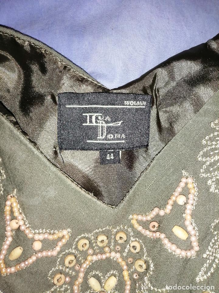 Vintage: Vestido bordado - Foto 8 - 213703010