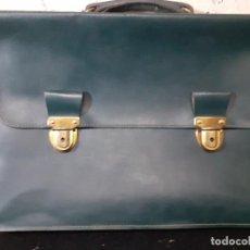 Vintage: CARTERA PORTADOCUMENTOS CUERO. Lote 214126768
