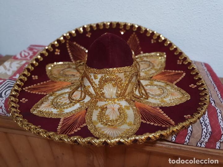 Vintage: SOMBRERO MEXICANO AUTÉNTICO - Foto 3 - 214780308