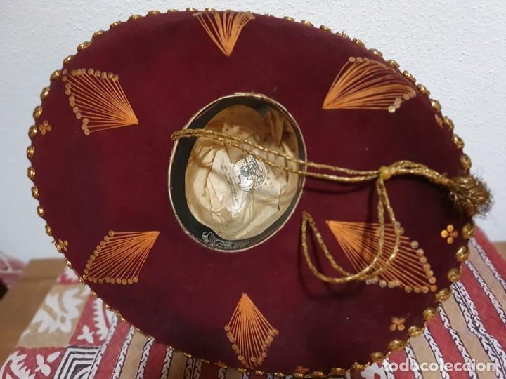 Vintage: SOMBRERO MEXICANO AUTÉNTICO - Foto 4 - 214780308