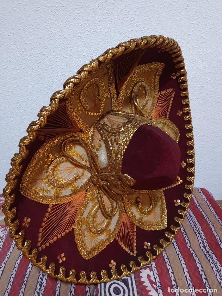Vintage: SOMBRERO MEXICANO AUTÉNTICO - Foto 6 - 214780308