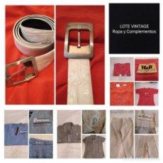 Vintage: LOTE ROPA Y COMPLEMENTOS. LEER DESCRIPCIÓN,VER FOTOS. Lote 215389325