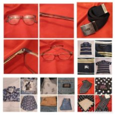 Vintage: FANTÁSTICO LOTE VINTAGE ROPA Y COMPLEMENTOS.LEVI'S, LIBERTO, CARAMELO,BURBERRY.... Lote 215394927
