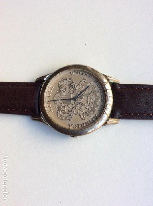 Vintage: Envío 8€. Reloj ALFEX CABALLERO TWENTY DOLLAR AUTÉNTICO funciona perfectamente. - Foto 3 - 216647767