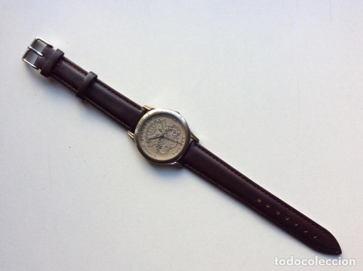 Vintage: Envío 8€. Reloj ALFEX CABALLERO TWENTY DOLLAR AUTÉNTICO funciona perfectamente. - Foto 2 - 216647767