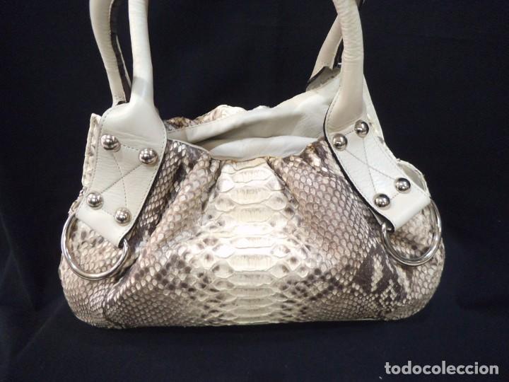 BOLSO PITÓN -BOL PERDIX- HIELO P (Vintage - Moda - Mujer)