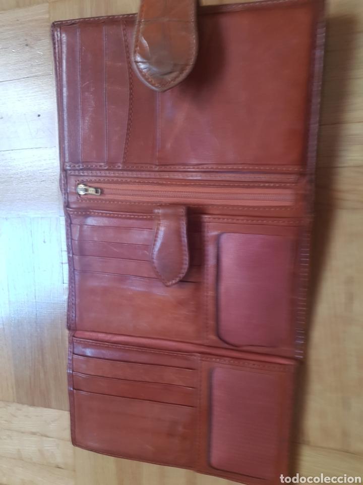 Vintage: Cartera de piel de Ubrique - Foto 7 - 217049643