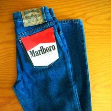 Vintage: PANTALÓN VAQUERO MARLBORO NUEVO SIN USO.AÑOS '80.TALLA 32.. Lote 218804141