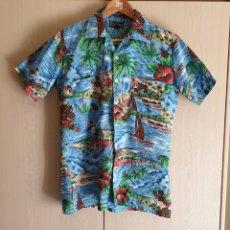 Vintage: CAMISA VINTAGE HAWAIANA MARCA TOWNSLEY TALLA L AÑOS 80 - SURF BEACH EXOTICA. Lote 218983443
