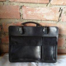 Vintage: BOLSO DE PIEL. Lote 219974093