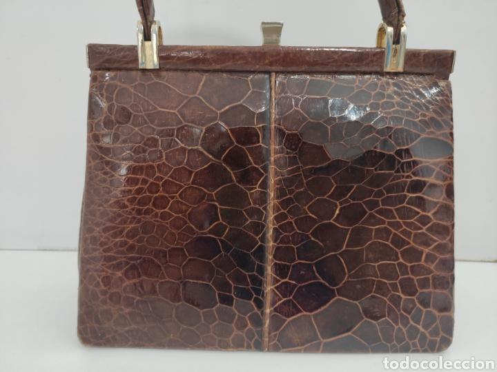 Vintage: Bolso piel de serpiente. Años 60. - Foto 2 - 220732885