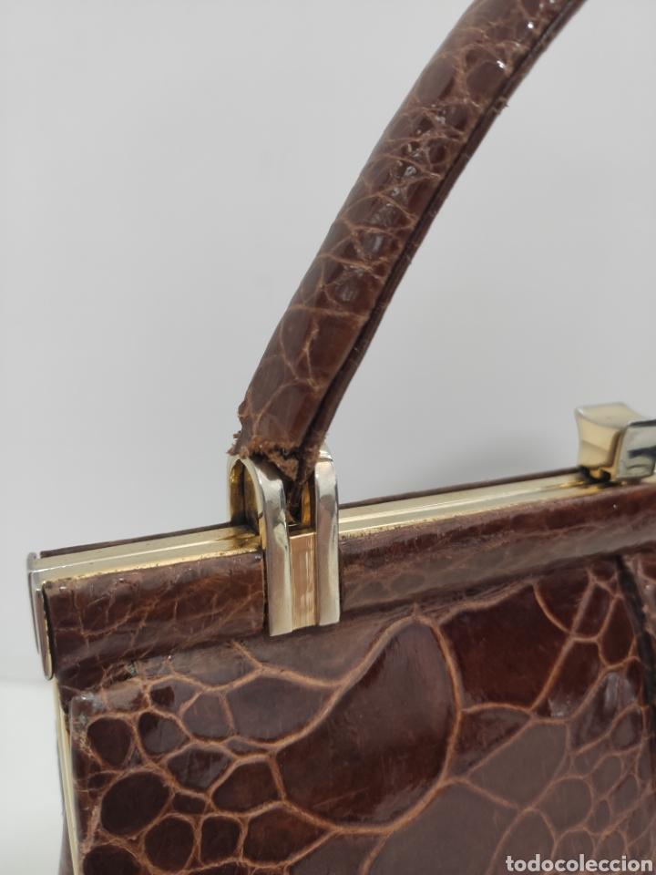 Vintage: Bolso piel de serpiente. Años 60. - Foto 5 - 220732885
